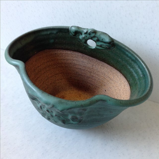 Arts & Crafts Studio Pottery Wall Pocket - Image 4 of 11