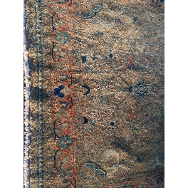 "Vintage Persian Mahal Runner - 3'6"" x 11' - Image 3 of 11"