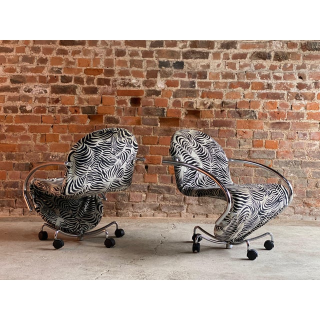 Verner Panton System 123 Easy Chairs for Fritz Hansen, circa 1970s - A Pair For Sale - Image 12 of 13