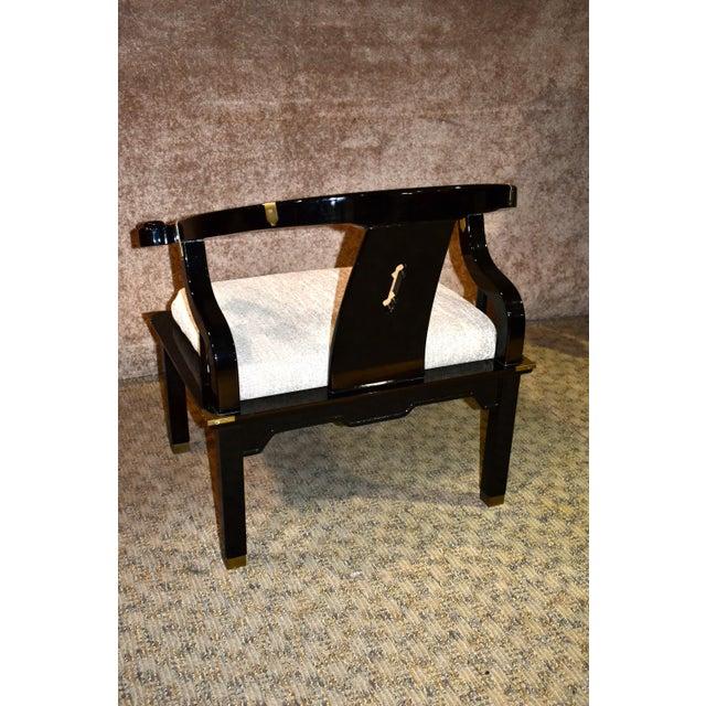 1980s 1980s Pallavisini Asian Style Italian Chair For Sale - Image 5 of 12