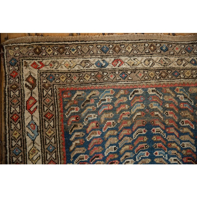 """1920s Vintage Caucasian Rug - 3'7"""" X 5'8"""" For Sale - Image 5 of 12"""