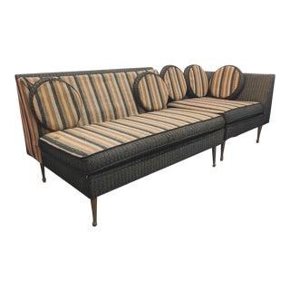 1960s Vintage Karpen Furniture Mid-Century Modern Sectional For Sale