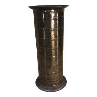 Early 20th Century Arts & Crafts Umbrella Stand For Sale