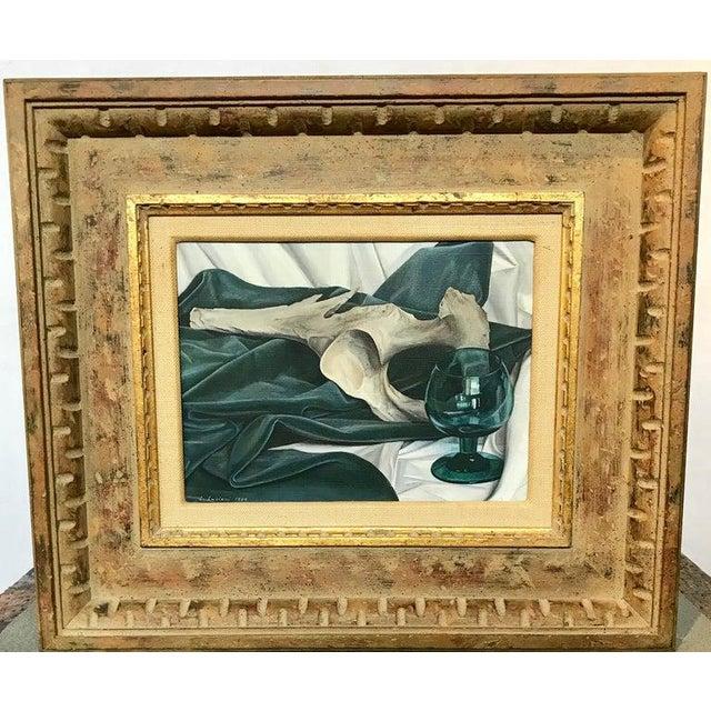Luigi Lucioni Oil on Canvas Still Life For Sale - Image 4 of 9