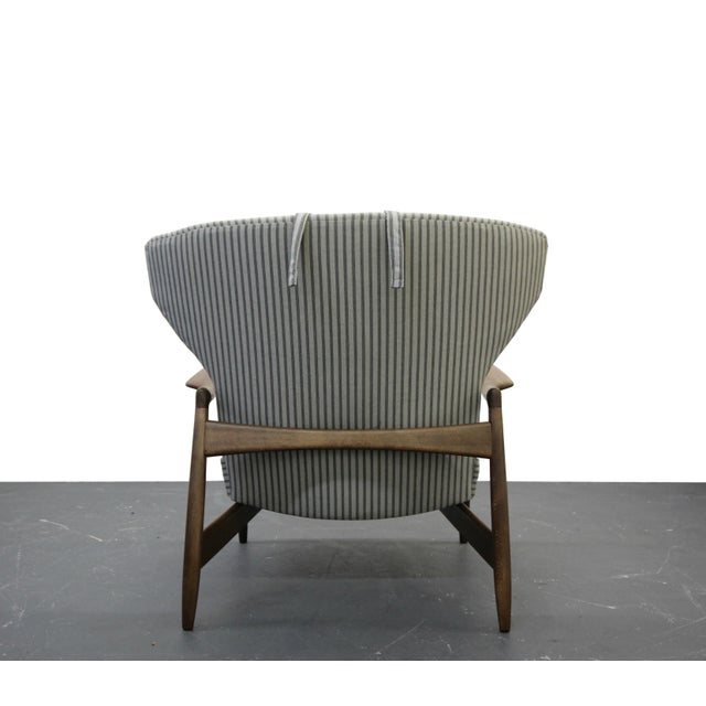 Mid Century Danish Wingback Lounge Chair by IB Kofod-Larsen - Image 6 of 9