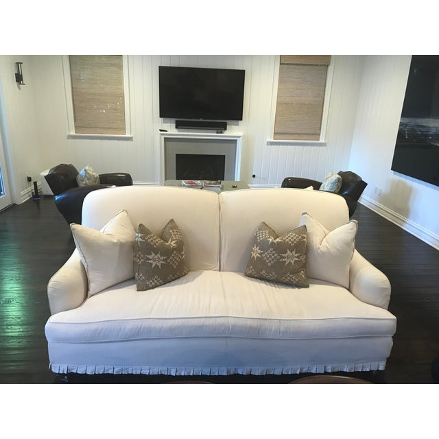 Contemporary Windsor Smith Double Sided Couch For Sale - Image 3 of 6