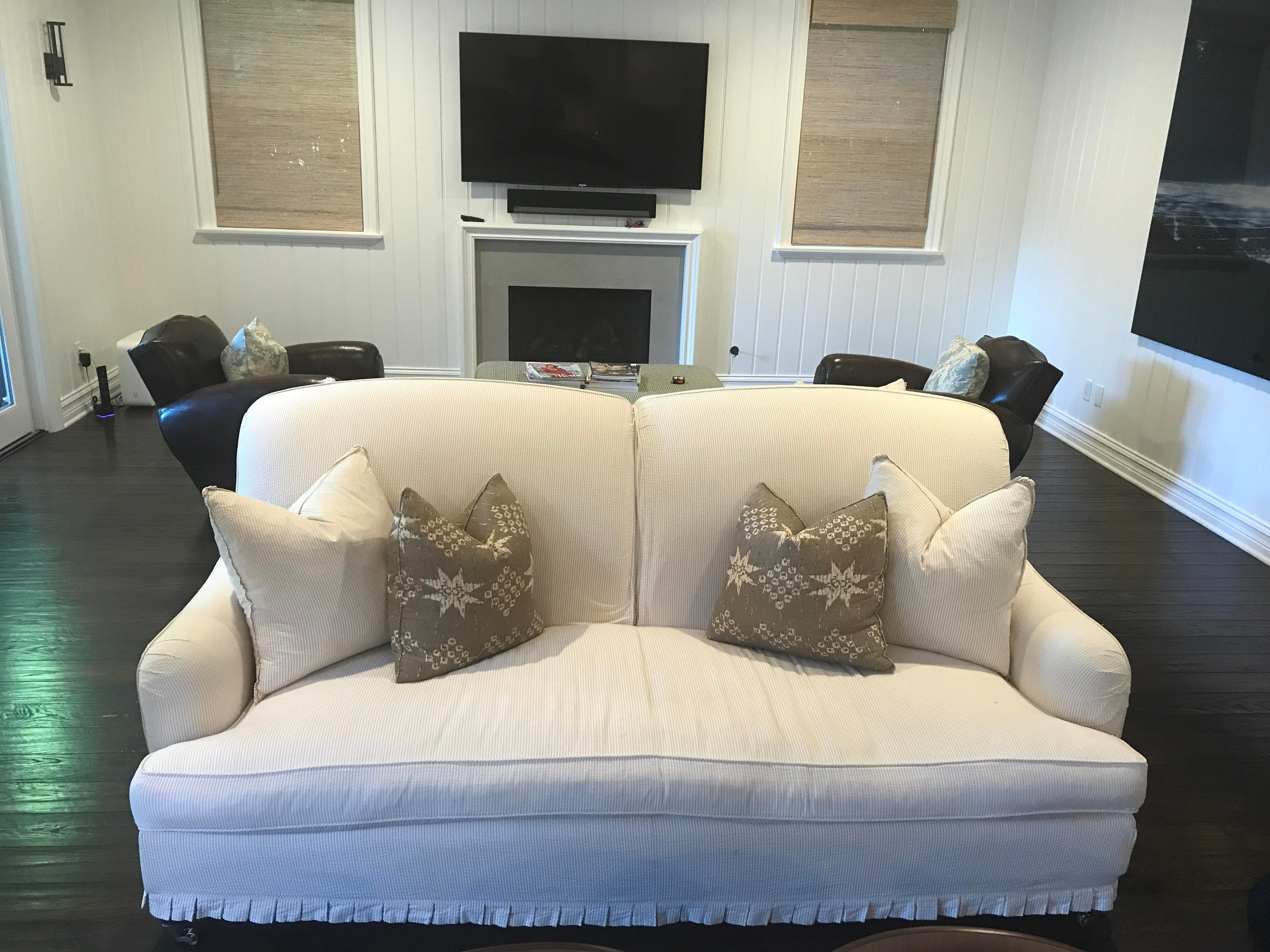 Contemporary Windsor Smith Double Sided Couch For Sale   Image 3 Of 6