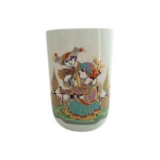 Bjørn Wiinblad Rosenthal Vase For Sale