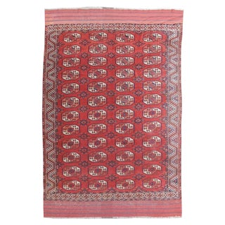 Kyzil Ayak Rug - 7′ × 10′5″ For Sale