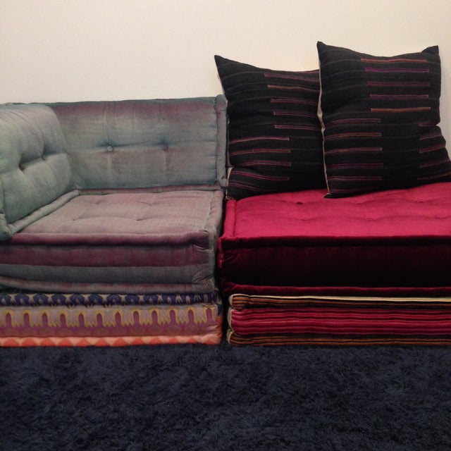 Roche Bobois Mah Jong Missoni Sofa For Sale - Image 5 of 5