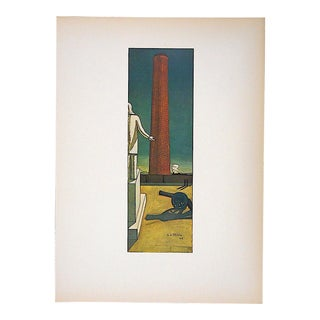 Vintage Mid 20th Century Modernist Lithograph-Giorgio De Chirico-Folio Size For Sale