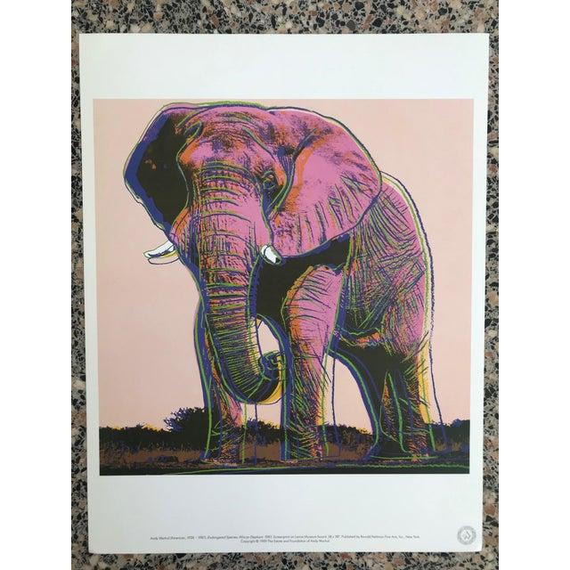 """1980s Warhol """"Endangered Species"""" Print Portfolio For Sale - Image 5 of 12"""