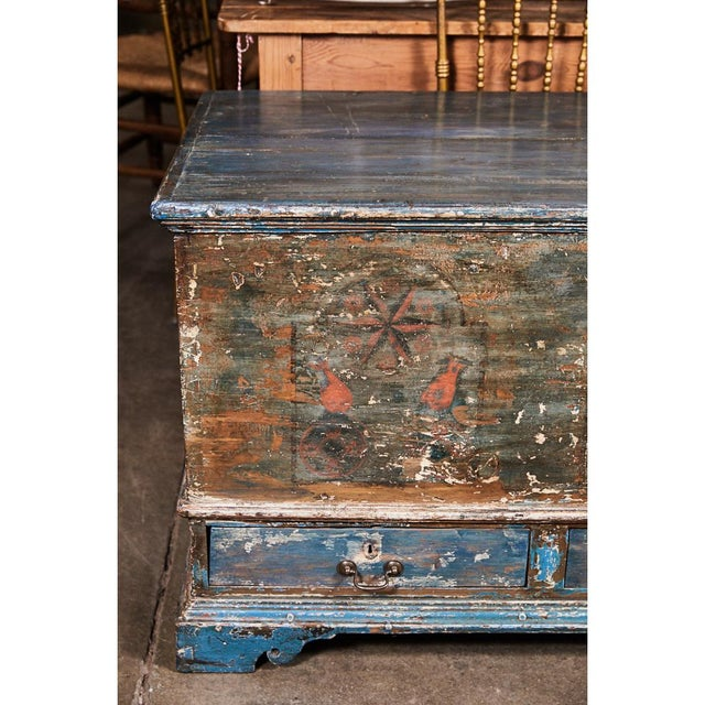 Pennsylvania Blanket Box/ Dowry Chest For Sale In Los Angeles - Image 6 of 9