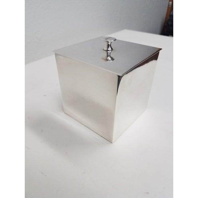 Carluccio Vintage Silverplate Box For Sale - Image 9 of 9