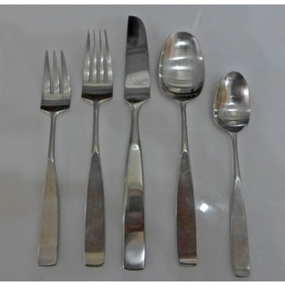 1950s Lauffer Bedford Japan Flatware Silverware Don Wallance - Set of 56 Preview