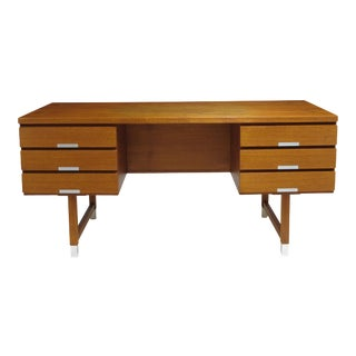 Kai Kristiansen Teak Desk For Sale