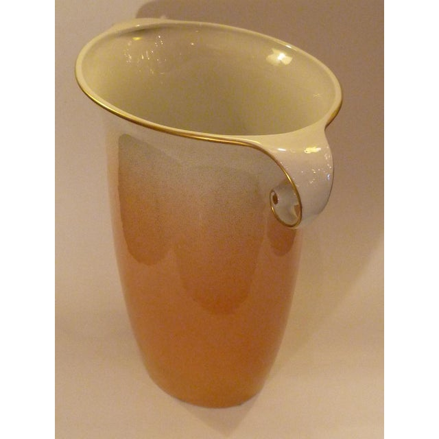 Mangani Large Sculptural Mangani Porcelain Vase For Sale - Image 4 of 5