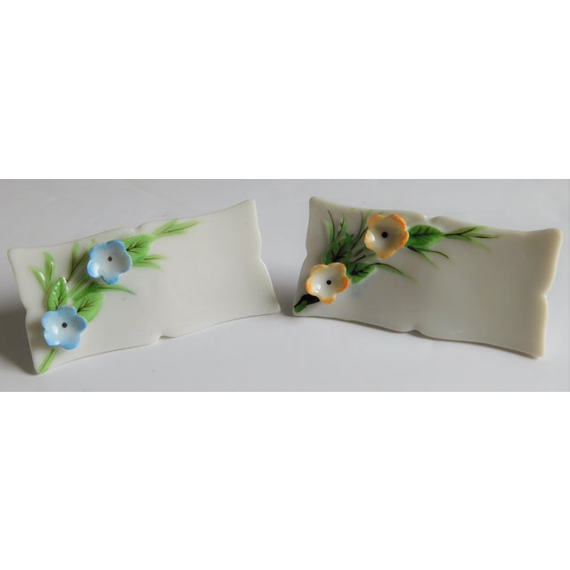Mid 20th Century White Porcelain Vintage Place Cards - Set of 24 For Sale - Image 5 of 12