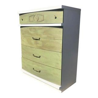Mid Century Modern Bassett HighBoy Dresser For Sale
