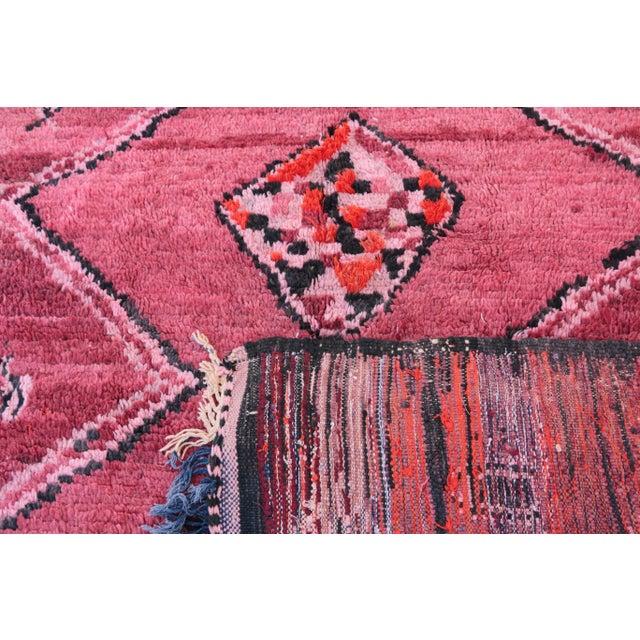 "Vintage Boujaad Moroccan Rug - 5'7"" X 8'11"" - Image 5 of 6"