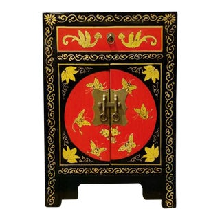 Shanxi Red End Table For Sale