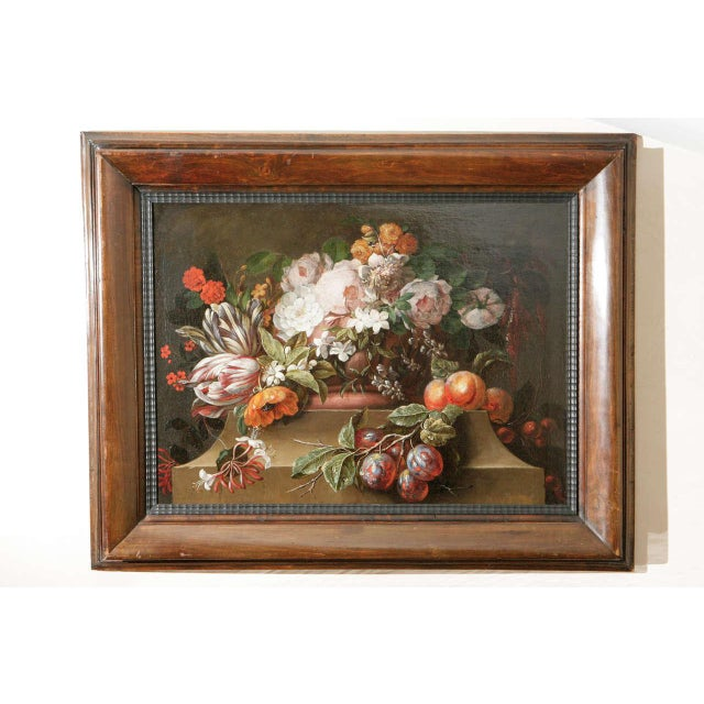 18th C. Dutch Still Life Oil Painting For Sale - Image 10 of 11