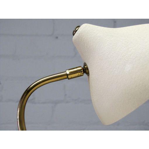 "White Louis Kalff ""Krähenfuss"" Table Lamp For Sale - Image 8 of 9"