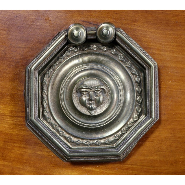 George III Diminutive Mahogany and Satinwood Secretaire For Sale - Image 9 of 13