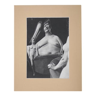 Vintage Mid Century Modernist Photography-Surreal Female Nude By Andre Kertesz For Sale