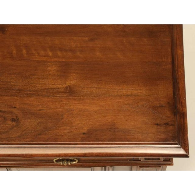 French Walnut Buffet For Sale - Image 9 of 10