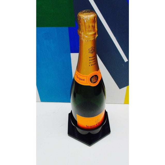 Iconic Orange Veuve Clicquot Barware Champagne Cooler Ice Bucket We have three available A whimsical yet practical cooler...