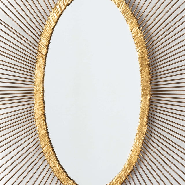 Sedona Oval Mirror For Sale - Image 4 of 5