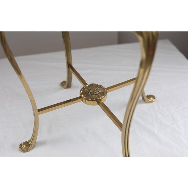 Hollywood Regency Style Vanity Stool - Image 4 of 7
