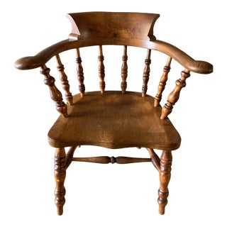19th Century Great Early Desk Chair For Sale