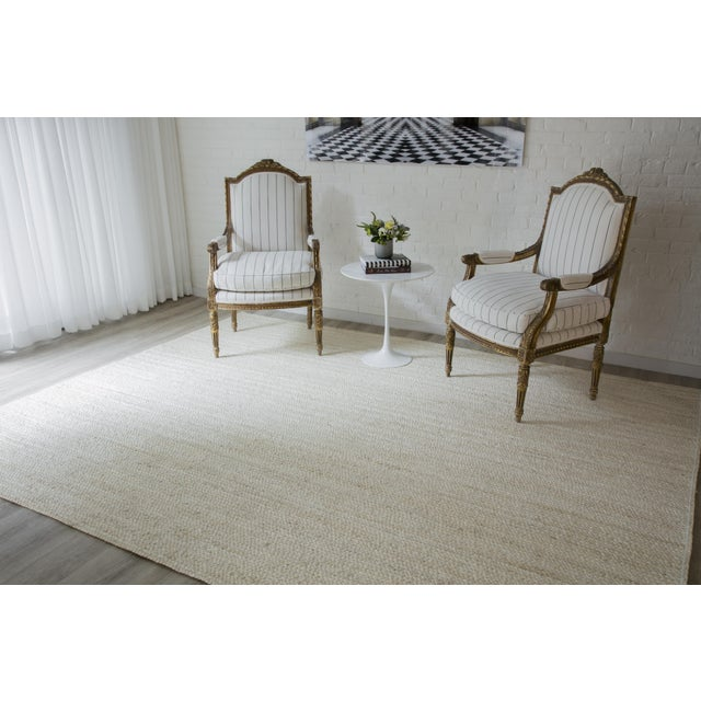 "Textile Erin Gates by Momeni Westshore Waltham Natural Jute Area Rug - 3'6"" X 5'6"" For Sale - Image 7 of 8"