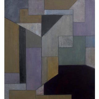 Modern Abstract Geometric Painting For Sale