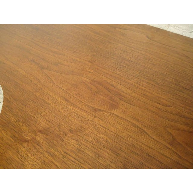 1960s Rare Designer Table in Kidney Shape For Sale - Image 5 of 6
