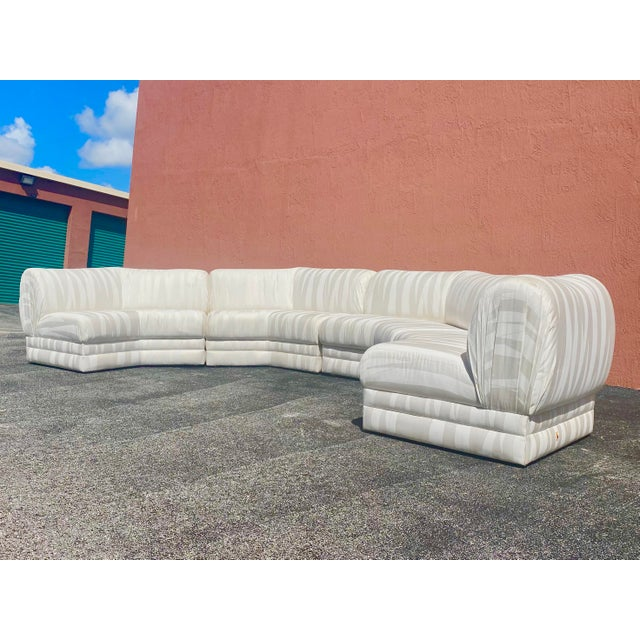 Textile Midcentury Milo Baughman for Thayer Coggin Sectional Sofa For Sale - Image 7 of 12