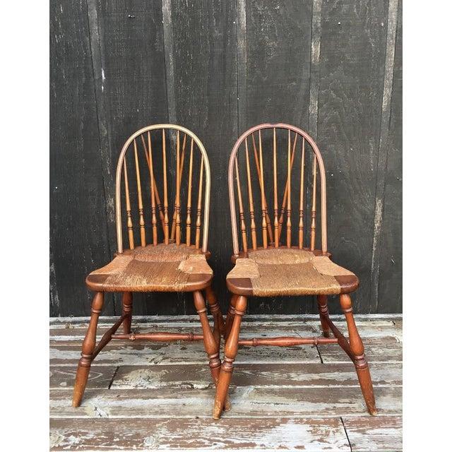 1920s Barnard & Simonds Co. Chairs - Set of 4 - Image 5 of 11
