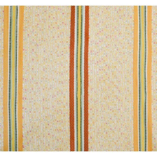 Boho Chic Swedish Handwoven Rug- 2′5″ × 6′10″ For Sale - Image 3 of 5