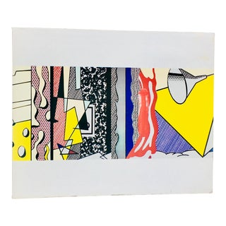 Vintage Roy Lichtenstein Exhibit Catalog Print For Sale