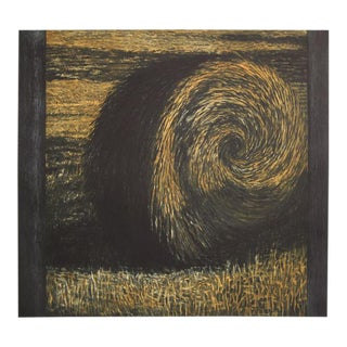 Bale of Hay, Etching by Richard Ballard