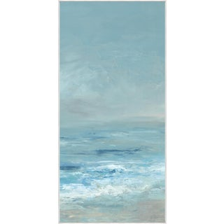 Kenneth Ludwig Print on Canvas, Ocean Blue I by Barclay Butera For Sale