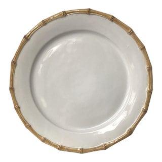 "Juliska Ceramic Bamboo 14"" Platter Charger For Sale"