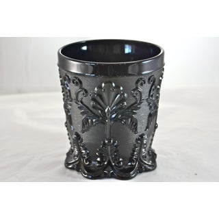 Opaque Black Glass Vase Preview