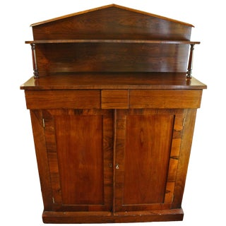 1820s Georgian Rosewood Chiffonier For Sale