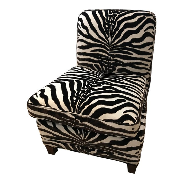 Modern Scalamandre El Morocco Chair For Sale