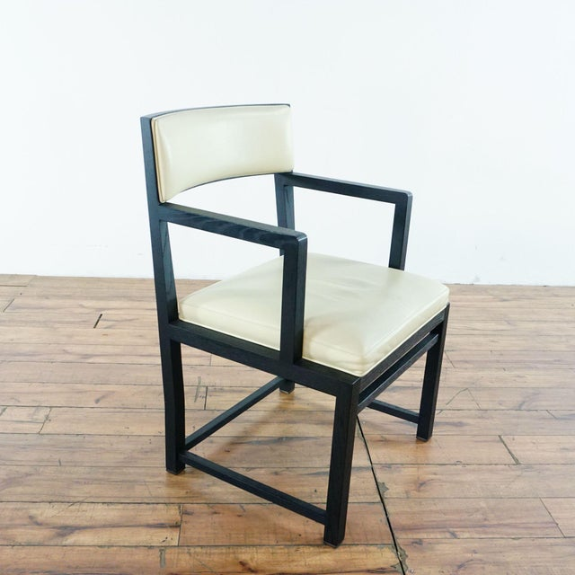 Leather B&b Italia Side Chairs - a Pair For Sale - Image 7 of 11