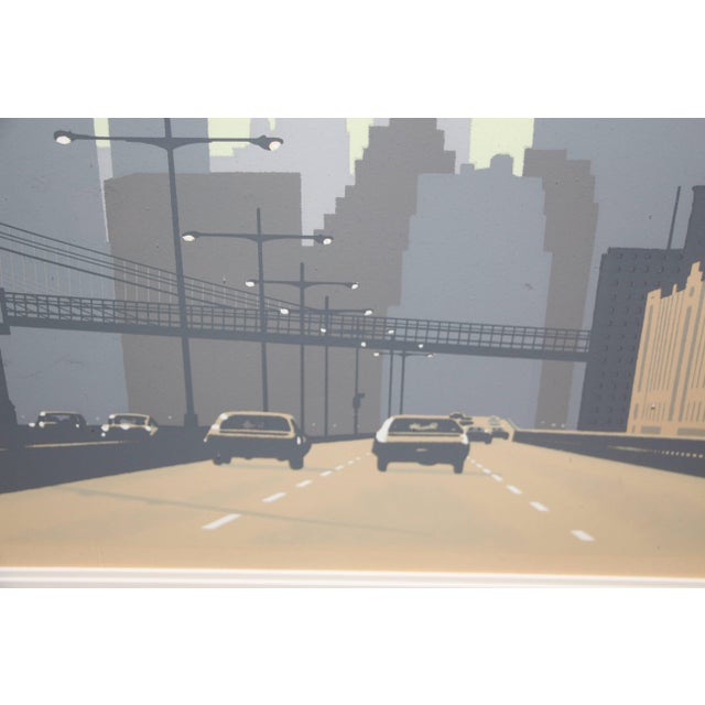 1970s East Side Drive New York City Serigraph by Howard Kanovitz For Sale - Image 5 of 9