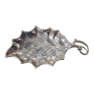 Mid-Century Leaf Serving Dish